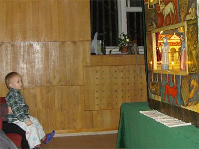 07.01.11 Рождественское поздравление пациентов и персонала Пущинской больницы