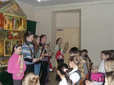 Вертеп для 5-6 классов пущинской школы №1