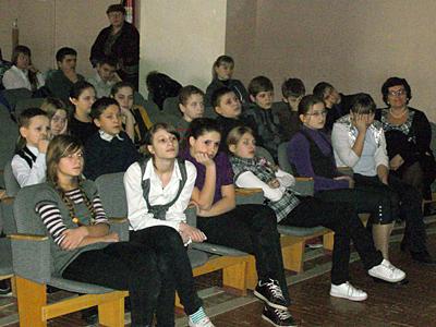 Вертеп для старших классов пущинской школы №3