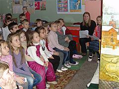 Вертеп в гимназии 2011