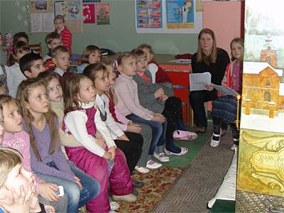 Вертеп для 1 класса пущинской гимназии
