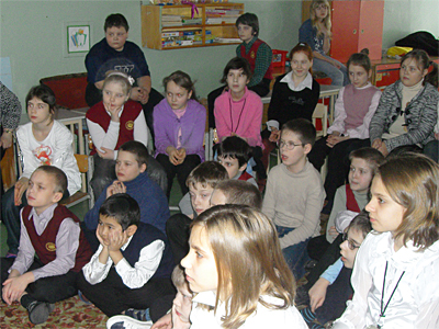 Вертеп для 4-х классов пущинской гимназии