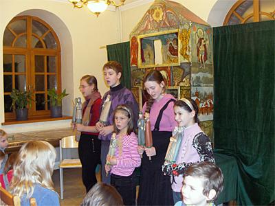 Вертеп для волонтеров и клуба молодой семьи