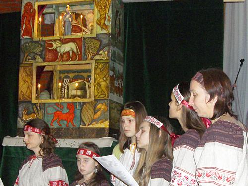 "08.01.12 Вертеп в пансионате ""Пущино"""