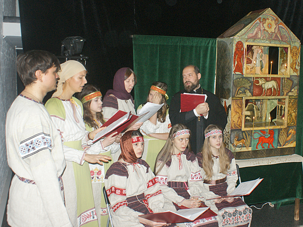 Вертоград на XIV Фестивале вертепов в Коломне 2012