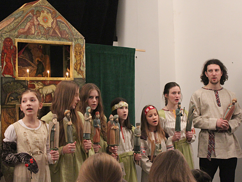 """""""Вертоград"""" на XIV фестивале  Вертепов в Коломне"""