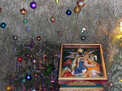 Вертеп в Ново-Голутвином женском монастыре