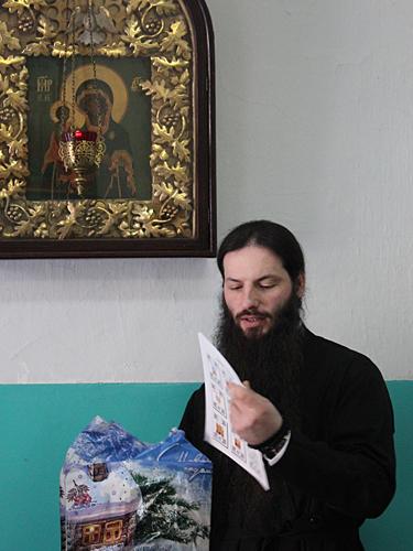 """Учебно-методический комплект """"Вертоград"""" в подарок воскресной школе обители"""