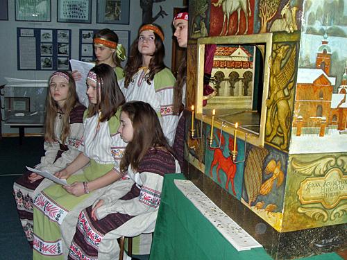 19.01.2012 Вертеп в Пущинском музее