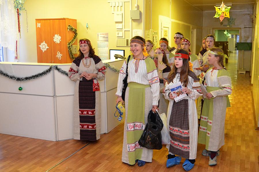 Христославы в Пущинской больнице