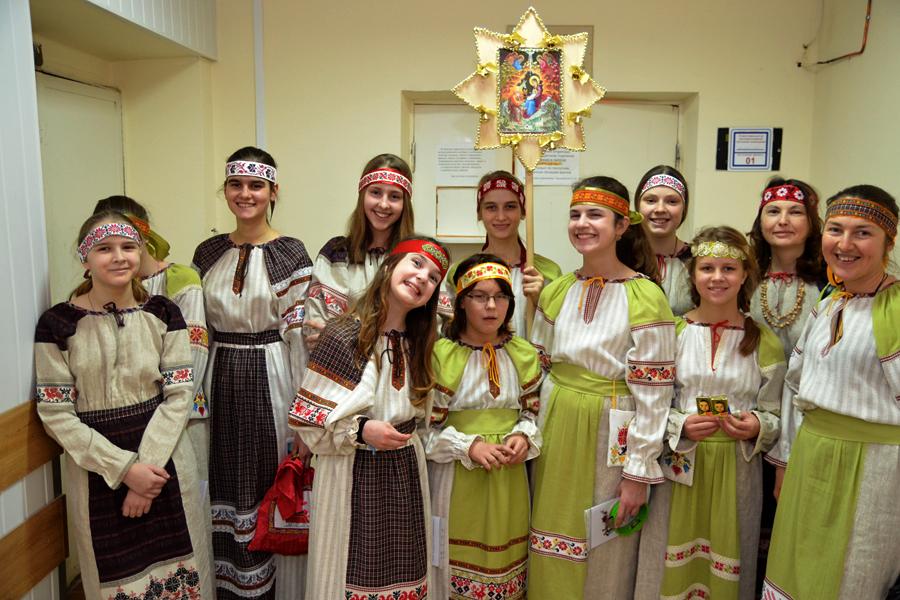 Христославы в Пущинской больницы