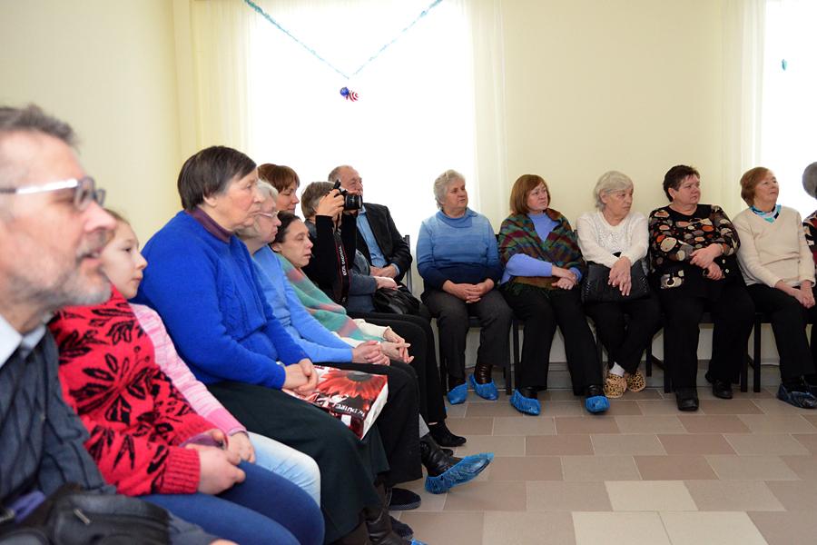 Вертепное представление в Пущинском реабилитационном центре