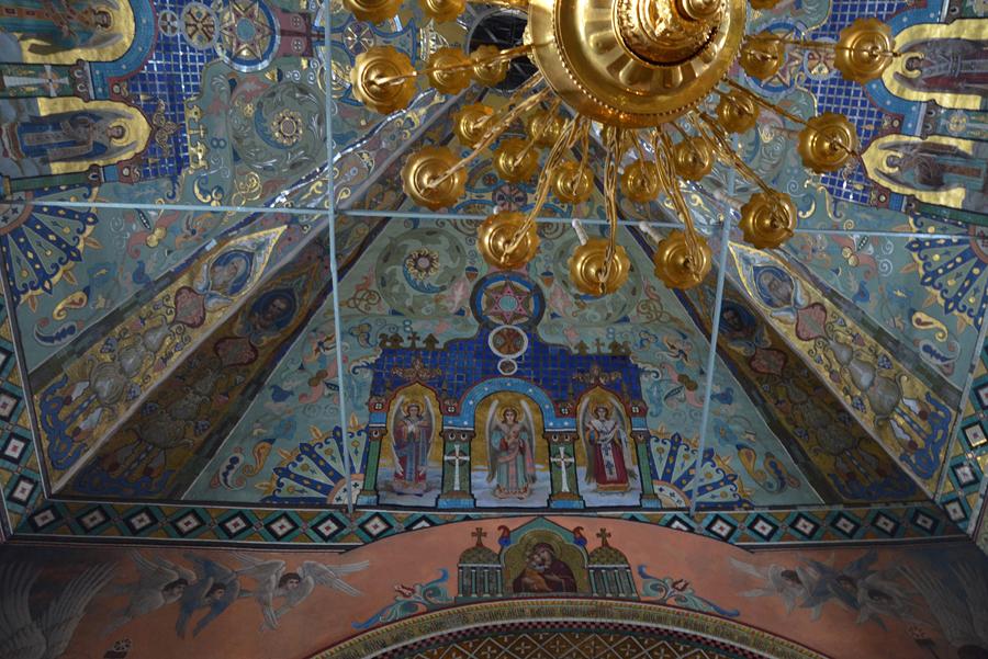 Убранство храма Рождества Иоанна Предтечи на Пресне
