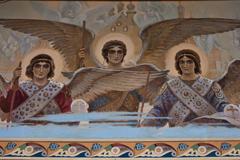 Росписи васнецовской школы в храме Рождества Иоанна Предтечи на Пресне