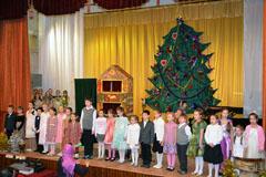 08.01.2014 Рождественский праздник воскресной школы