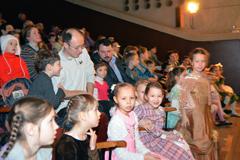 """Рождественский праздник 2014 в воскресной школе """"Вертоград"""""""
