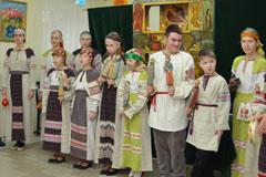 Вертепное представление в Пущинском социально-реабилитационном центре
