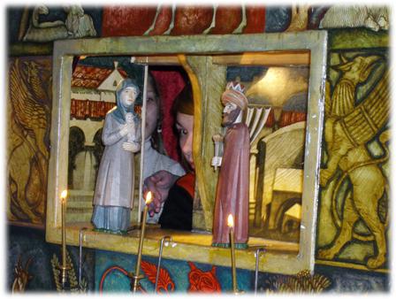 Сцена Рахиль и Ирод