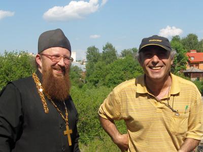 отец Сергий и Павел Арустамян