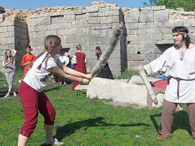 Бой на тимбарах
