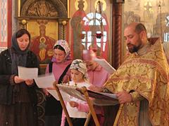 """Начало учебного года в воскресной школе """"Вертоград"""""""
