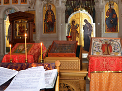 """Молебен по окончании учения в воскресной школе """"Вертоград"""""""