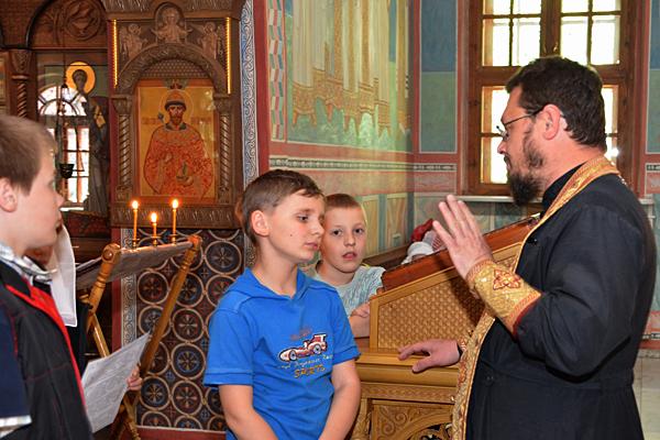 """Молебен по окончании учебного года в воскресной школе """"Вертоград"""""""