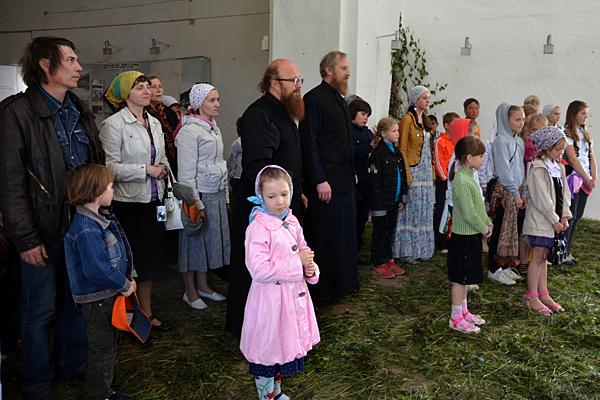 Троицкие хороводы на Соборной горе