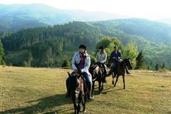 Конный поход в Карпаты