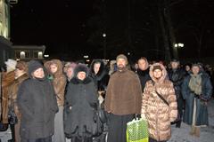 Вертоградовцы у Даров волхвов