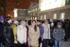 14.01.2014 Вертоградовцы поклонились Дарам волхвов