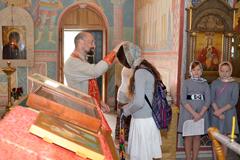24.05.2014 Благодарственный молебен  по окончании учения