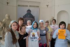 Выпуск воскресных школ Серпуховского благочиния и образовательная игра к 700-летию преподобного Сергия