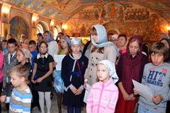 13.09.2014 Молебен на начало учебного года в воскресной школе