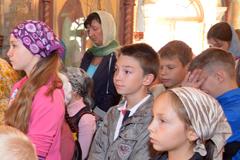 13.09.2014 Молебен на начало учебного года в воскресной школе Вертоград