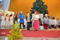 09.01.2015 Рождественский праздник в воскресной школе Вертоград