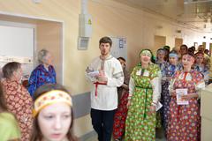 12.04.2015 Волочебники в Пущинской больнице