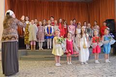 19.04.2015 Пасхальный праздник воскресной школы Вертоград