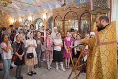 23.05.2015 Молебен по окончании учебного года в воскресной школе