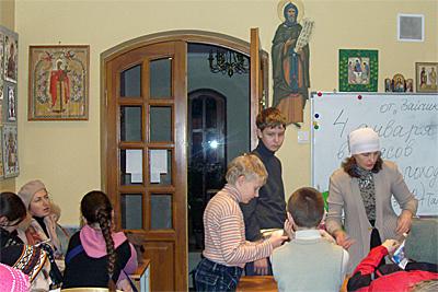 Молебен на Новый год 25.12.10