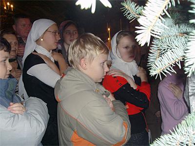 Рождественская служба 2011