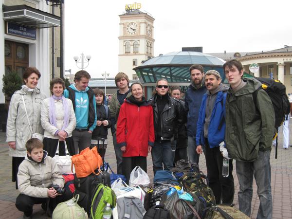 Паломники из г. Пущино в Киеве