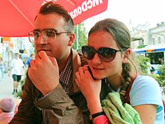 Антон и Маша Панкратовы