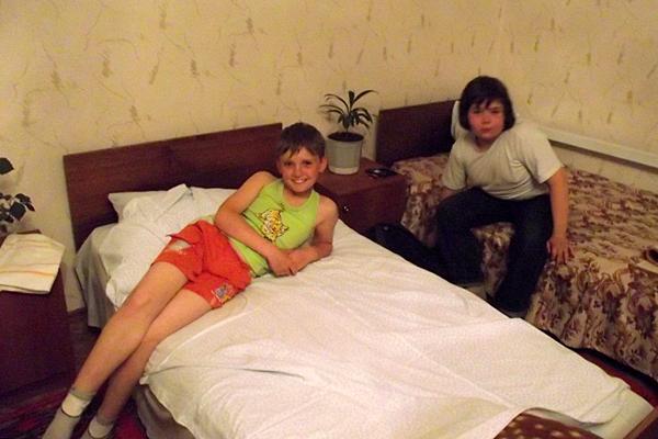 В гостинице близ Дивеево