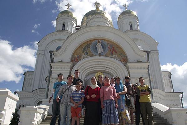 У Спасо-Преображенского Дивеевского собора