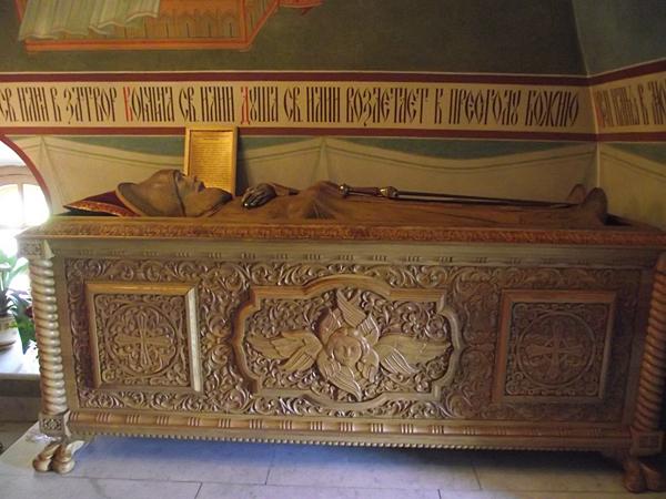 Надгробный комплекс Ильи Муромца с частицей мощей
