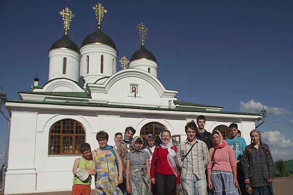 У Спасо-Преображенского монастыря в Муроме