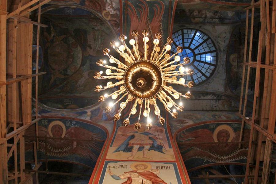 Спасо-Яковлевский Димитриев монастырь в Ростове Великом. Зачатьевский храм