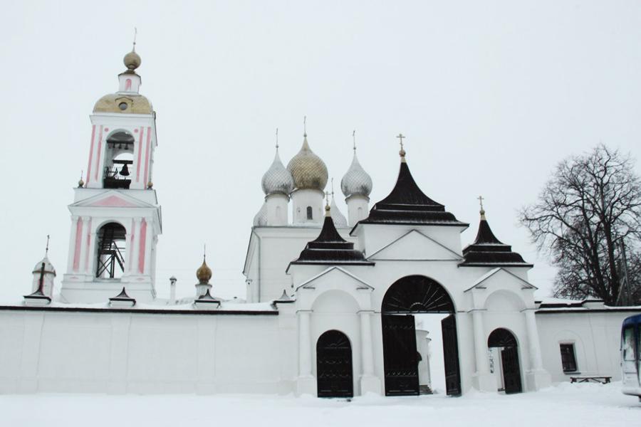 Монастырь сошествия Креста на Никольском погосте в с.Антушково