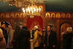 Рязань. В храме иконы Богородицы Скоропослушницы
